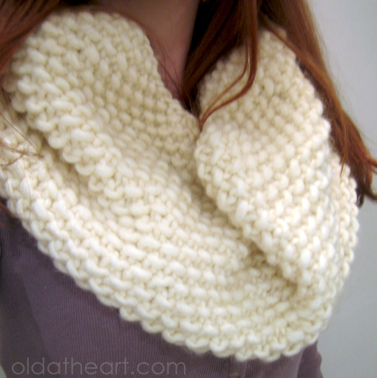 Simple Knit Cowl Pattern : 301 Moved Permanently